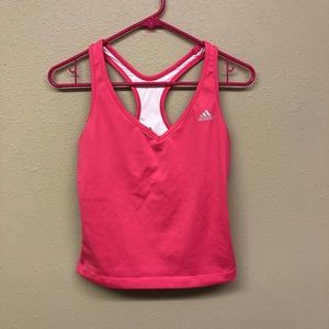 Adidas stretchy workout top